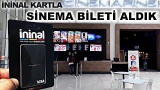İninal Kart Sinema Bileti - İninal Kart Sinemada Geçerlimi  - İninal İle Sinema Bileti Alınır Mı