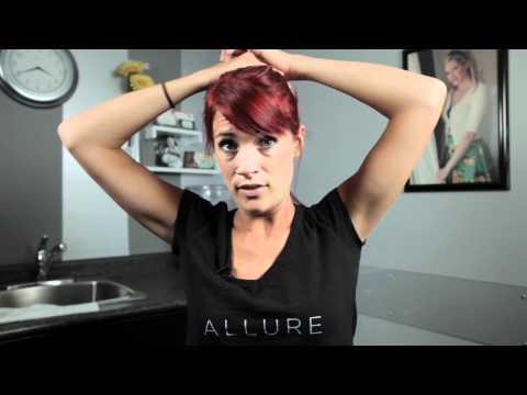 How To Do Your Own Updo - Simple Ballerina Bun