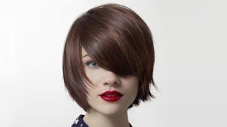 Стрижка градуированное каре с удлиненной челкой(Подписка на канал - http://bit.ly/BeautySalonOdessa Градуированная стрижка подходит для любой длины волос. Она хорошо..., 2015-04-15T23:23:20.000Z)
