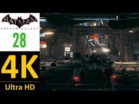 4K/60 fps-Batman Arkham Knight(World Record):Part 28-Disarmament Part 1(Hard/No Damage/No Upgrades).