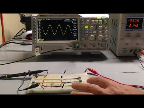 Colpitts Oscillator - A Simple Breadboard Circuit