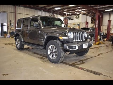 2019 Granite Crystal Jeep Wrangler Sahara Unlimited SJ6657 Motor Inn Auto Group