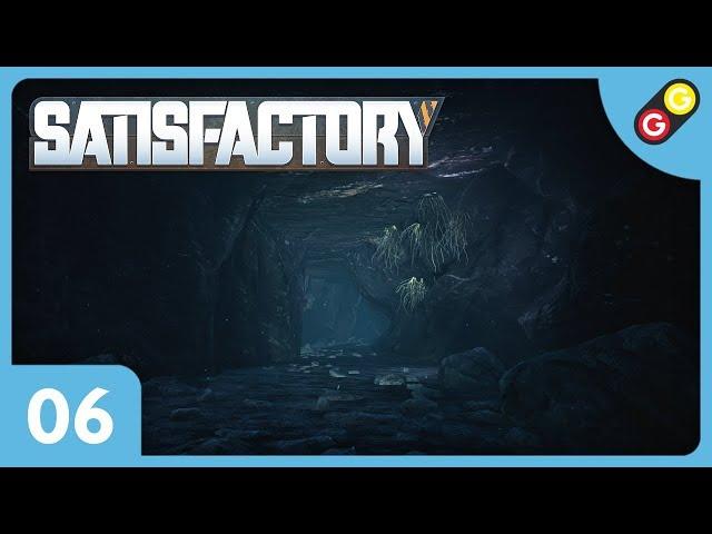 Satisfactory #06 On découvre une grotte ! [FR]
