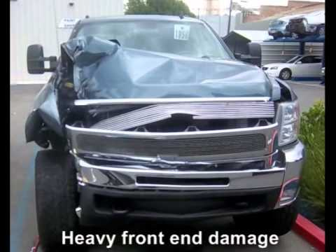 Chevrolet Truck Collision Repair – HD 2500 Before and After
