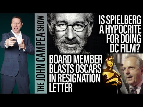Is Spielberg A Hypocrite For Doing Comic-Book Film? - The John Campea Show