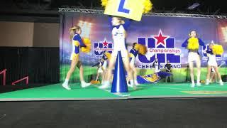 2019 3A State Cheerleading Championship Finals - Lago Vista HS