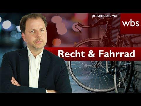 Was darf ich alles mit meinem Fahrrad? | Rechtsanwalt Christian Solmecke