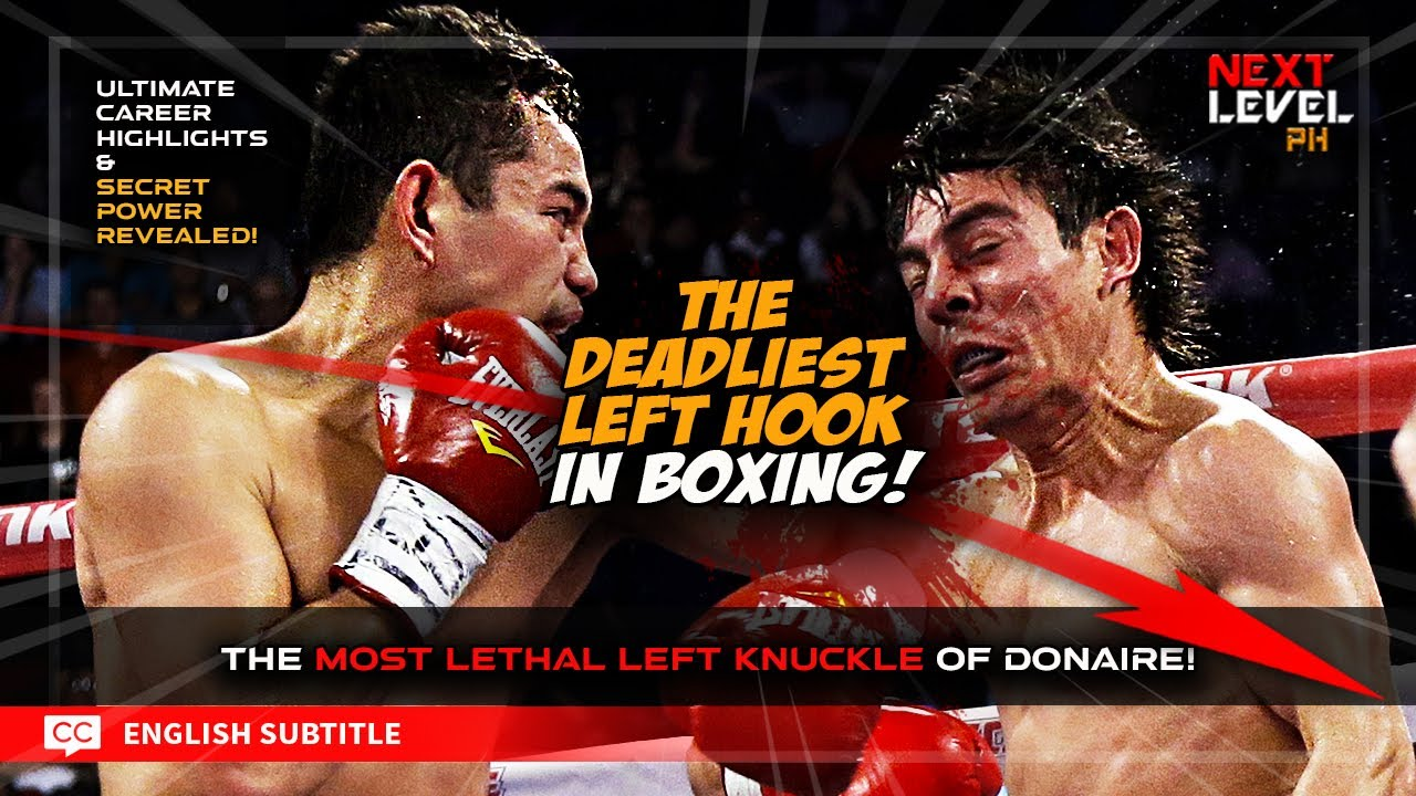 ANG KINAKATAKUTANG SUNTOK NI NONITO!  [ Donaire and the most lethal left hook in boxing! ]