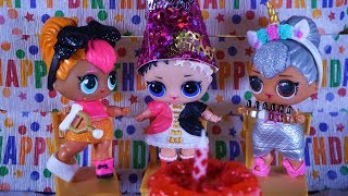 LOL SURPRISE DOLLS Celebrate Harper's Birthday!