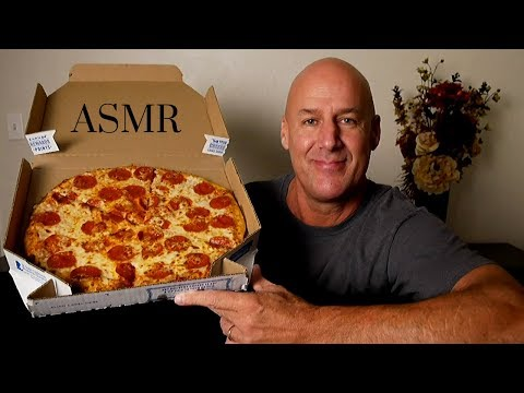 ASMR: Domino's Brooklyn Style Pizza (Eating Sounds) Soft Spoken