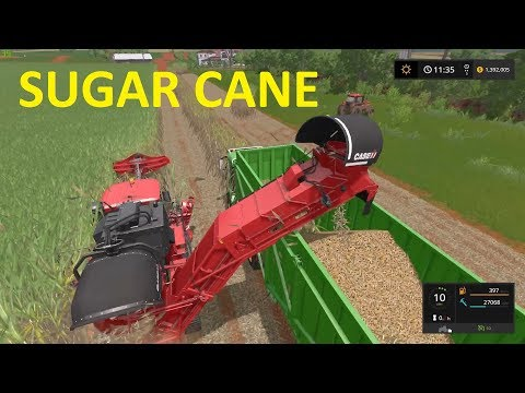 "Farm Sim Saturday...NEW DLC ""SUGARCANE"" CROP....NEW MAP NEW MACHINES"