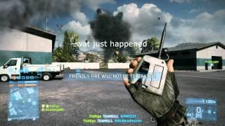 BattleField 3 The Ultimate Trolling Method (C4 OWN TEAM)