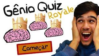 VOCÊ CONSEGUE VENCER? - Gênio Quiz do Clash Royale!