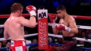 Saul Canelo Alvarez vs Amir Khan HD Highlights