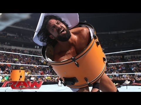 Dolph Ziggler vs. Damien Sandow - Broadway Brawl: Raw, Nov. 18, 2013