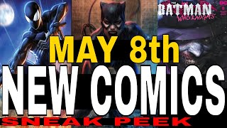 NEW COMIC BOOKS RELEASING MAY 8th 2019 MARVEL AND DC COMICS COMING OUT THIS WEEK - WEEKLY PICKS