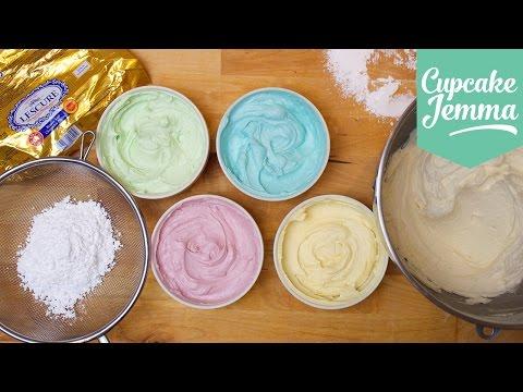 buttercream-masterclass:-how-to-make-perfect-buttercream-icing-|-cupcake-jemma