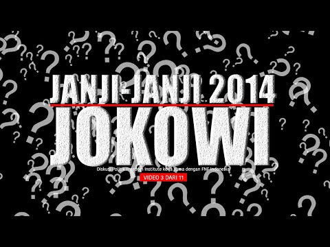 "FINS - Diskusi Politik: ""Membahas Arsitektur Kabinet Jokowi"" (03)"