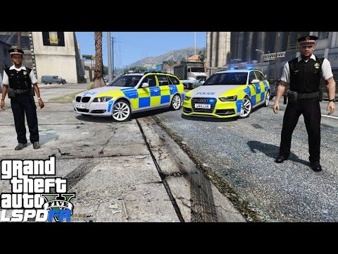 GTA 5 LSPDFR Mod 197 | British Policing Script | Ultimate British Police Pack | Metropolitan Police