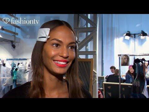 Joan Smalls: Model Talk at Fashion Week Spring/Summer 2013 | FashionTV