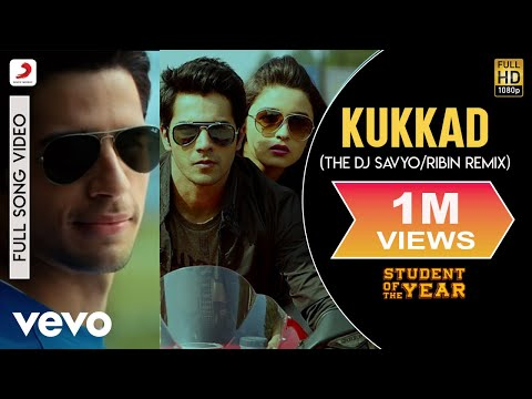 Kukkad (Remix) - Student of the Year | Alia|Sidharth | Varun | Karan Johar