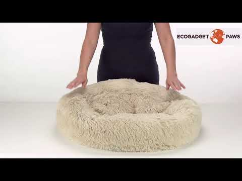 calming-shag-faux-fur-donut-cuddler