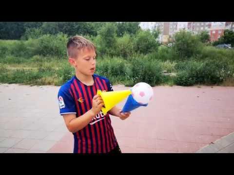 Конусы и мяч из FixPrice 10 упражнений как использовать - разминка юного футболиста