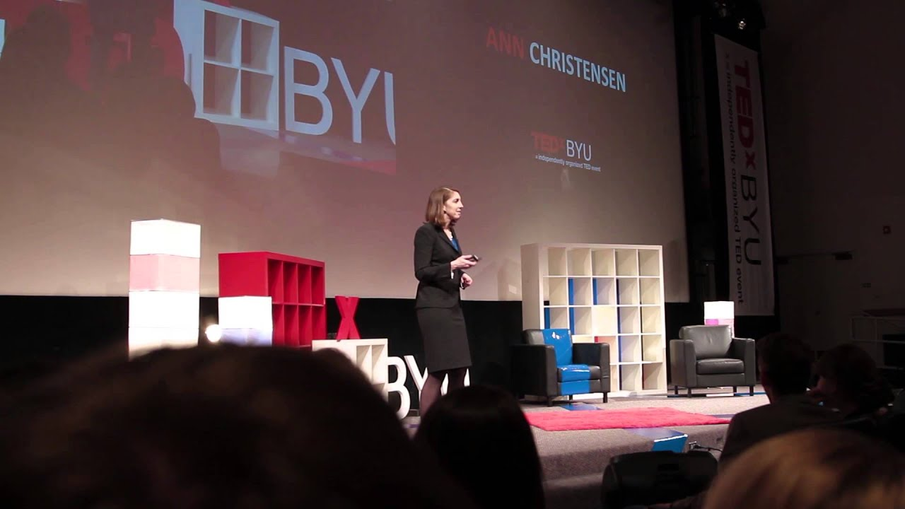 Ann Christensen at TEDxBYU