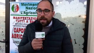 30 03 2017   Intervista al presidente Movimento Nazionale per l'Agricoltura Filippo Dipinto