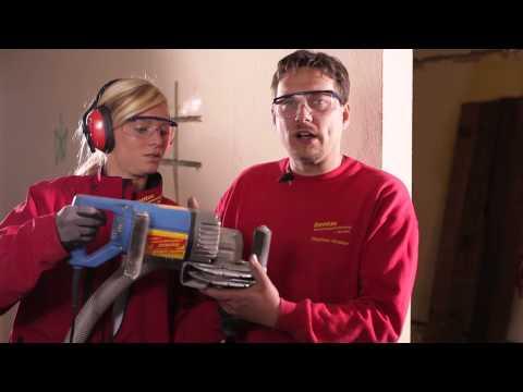 Video Die Mauernutfräse - Rentas Werkzeugvermietung