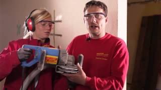 Die Mauernutfräse - Rentas Werkzeugvermietung