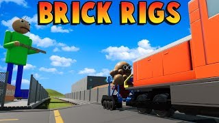 Lego Baldi NUKES Lego Train! - Fun Lego User Creations - Brick Rigs Gameplay Roleplay (Kid Friendly)