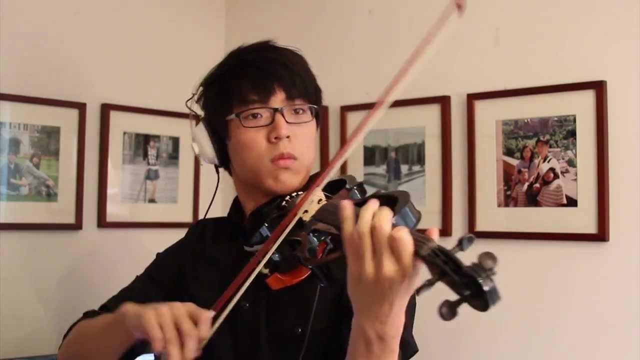 Canon Rock violin Cover - Jung sung ahn