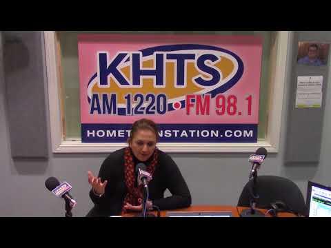 Miriam Nasiry From Credit Union - March 22, 2018 - KHTS - Santa Clarita