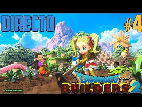 Dragon Quest Builders 2 - Directo #4 Español - Guía 100% - Moiranda Minimedallas - Nintendo Switch