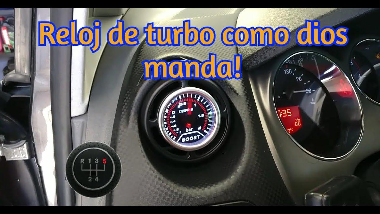 Como montar instalar reloj presion turbo paso a paso ¡Como dios manda! Seat Aleta 1.9 Leon II 1.9