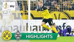 BVB-Doppelpacker: Brandt sei Dank! | Dortmund - Mönchengladbach 2:1 | Highlights - DFB-Pokal