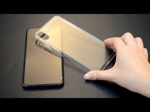 Mobile Phone Case Crystal Clear PC Tpu Hybrid Phone Case ...