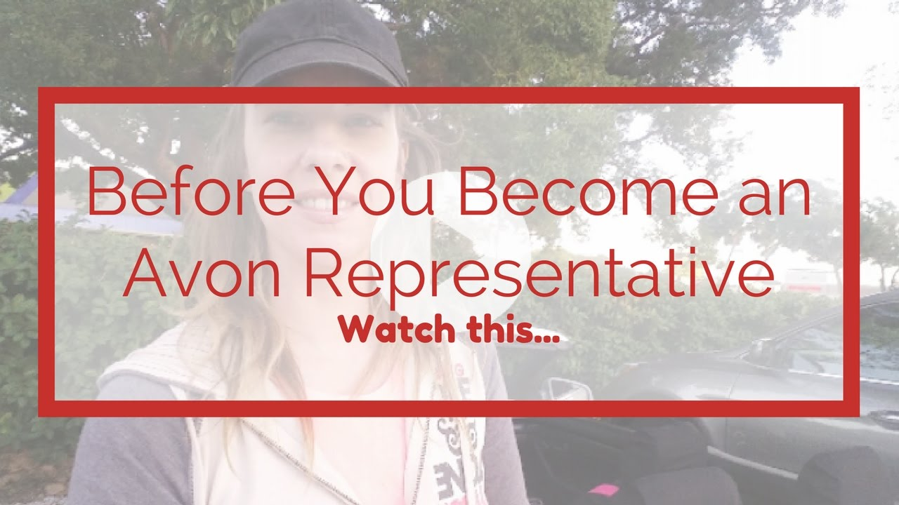 How to become a representative of Avon 89