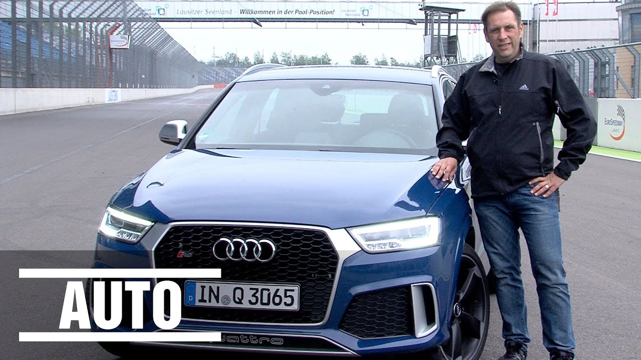 Audi Rs Q3 Performance Suv Im Bild Härte Test Youtube