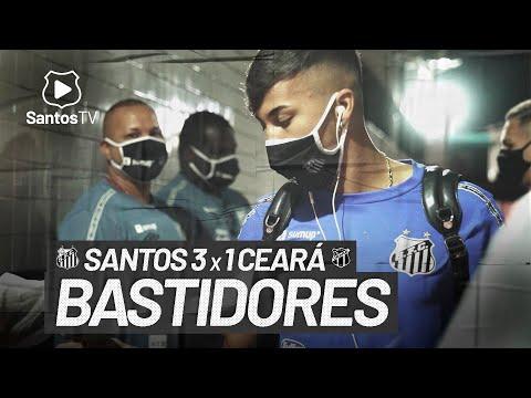 SANTOS 3 X 1 CEARÁ | BASTIDORES | BRASILEIRÃO (06/06/21)