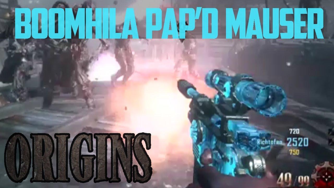 "Origins - ""BOOMHILDA"" Pistol, Pack a Punched Mauser Pistol ..."