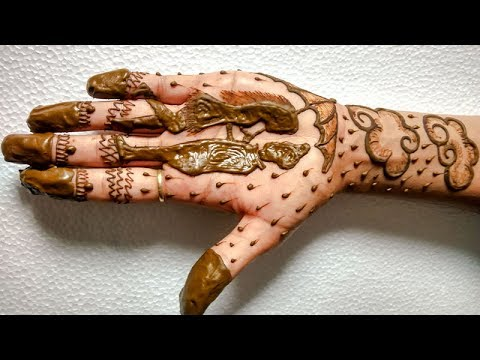 Mehndi Hands Couple : Couple love rian falling mehndi designs for hands
