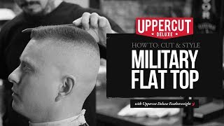 Haircut Tutorial: How to Cut and Style a Military Flat Top | Uppercut Deluxe thumbnail