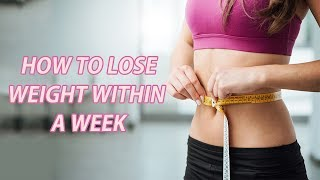 Obesity & Weight Loss | How To Lose Weight Within A Week | Health Tips