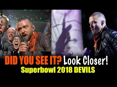See-2-Believe!! Justin Timberlake INVOKES Lucifer @ Superbowl 2018 half Time! Many fell for it