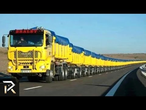 10 Largest Vehicles You Won't Believe Actually Exist