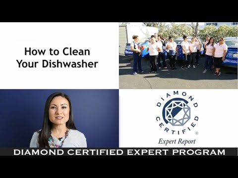 Diamond Certified Experts: How to Clean Your Dishwasher