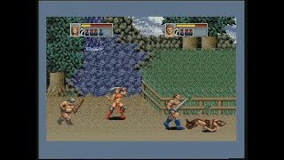 GOLDEN AXE III (MEGADRIVE - FULL GAME + BAD ENDING & SUPER MAGIC)