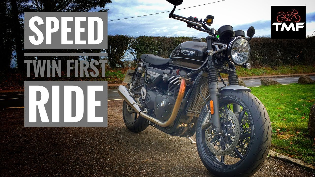 2019 Triumph Speed Twin Review Youtube